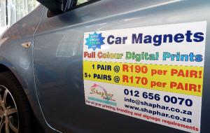 Car magneitc prints media