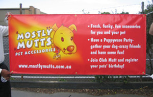 pvc banner signage events