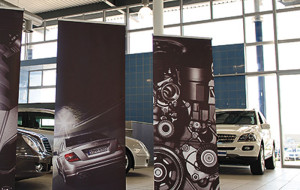 roll up banners events