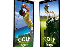 roll up banners media
